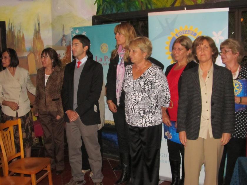 Socios Investidos: Beatríz Marin, Emilio Becker, Pamela Kohl, Eliana Cabello y Pauline Gubbins