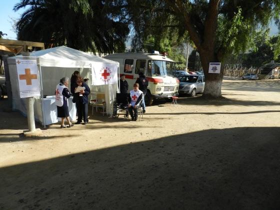 Cruz Roja en La Plenaria
