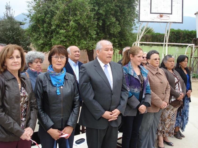 Susana Larios, Laura Jara, Williams Rodríguez y Macarena Santelices