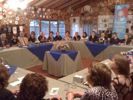 Vista General Reunión Visita Oficial GD Jorge y Sra. Sonia