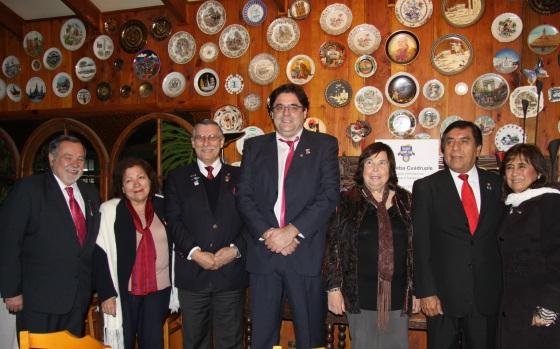 Juan Cambiaso, Sonia Cancino, Jorge Vega, Gonzalo Fontanés, Oriana Díaz, Felipe Platero, Ana María Chang