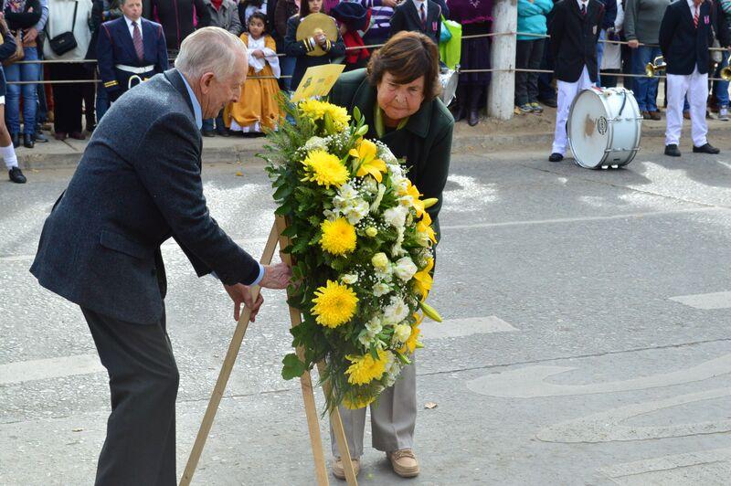 Presidenta RC Olmué Oriana Díaz junto a Macero RC Olmué Joaquín Larraín