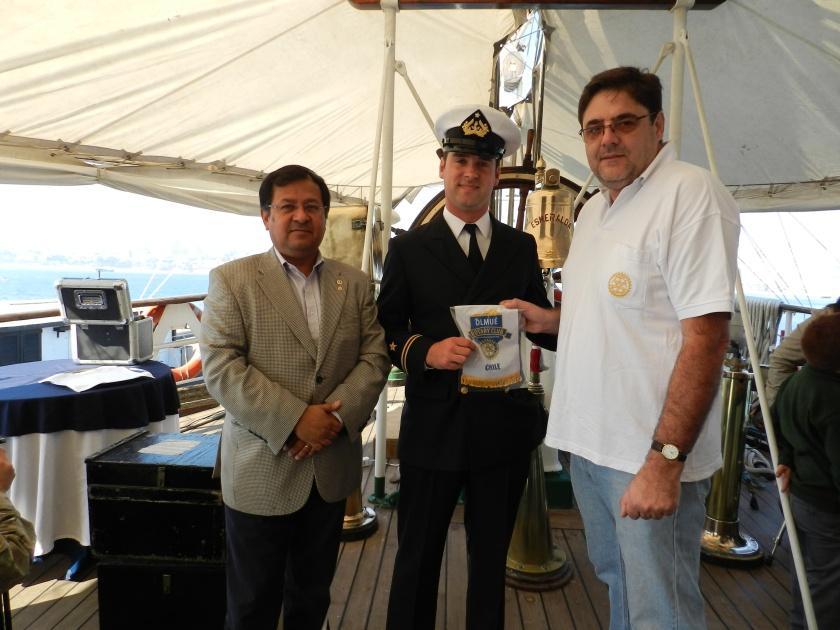 Edisón Pérez, Teniente Luis Carlos Allamand y Gonzalo Fontanes