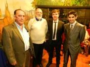 Jorge Fontanes, Noel Fontanes, Felix Kellaway y Juan Riquelme