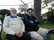 Noel Fontanes y Gonzalo Fontanes