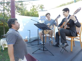 Prueba de Sonido, Juan Riquelme, Felix Kallaway y Juan Riquelme