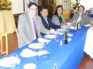 Gonzalo Fontanes, Edison Perez, Elizabeth Araos y Laura Jara