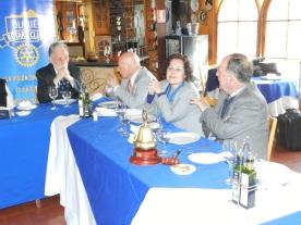 Nelson Pardo, Sergio Garay, Sonia Garay y Jorge Fontanes