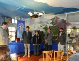 Promesa Rotaria Nuevos Socios Emilio y Juan Carlos