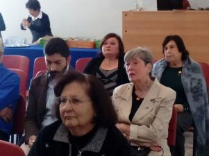Emilio Becker, Beatriz Zahr, Gabriela Marín, Erika Stuven y Oriana Díaz