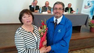 Yolanda Pablo recibe reconocimiento