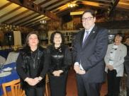 Alejandra Fontanes, GD Sonia Garay y Gonzalo Fontanes