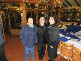 María Garay, Alejandra Fontanes y GD Sonia Garay