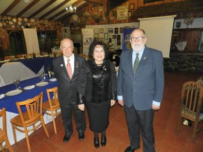 Sergio Garay, Sonia Garay y Noel Fontanes