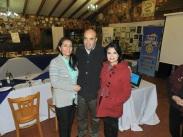 Ximena Brito, Rodrigo Díaz y Pamela Díaz