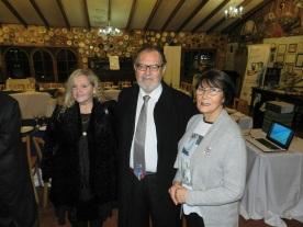 Valentina Treuer, Simón Saavedra y Laura Jara