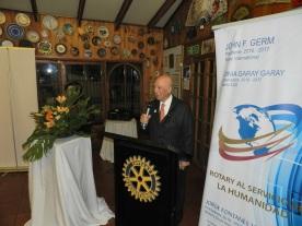 Bienvenida Nuevos Socios de EGD Sergio Garay