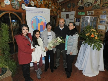 Familia Presidenta, Pamela Díaz, Laura Clavero, Laura Jara, Rodrigo Díaz y Ximena Brito