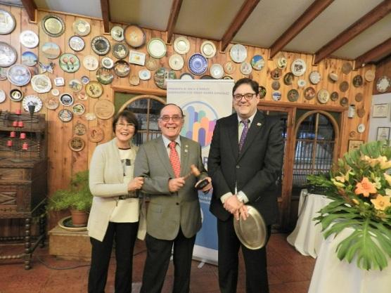 Presidenta Laura, Pastpresident Jorge y Ex Presidente Gonzalo
