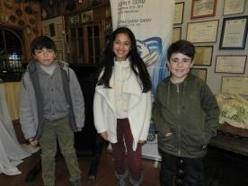Diego Godoy, Laura Clavero y Thierry Fontanes