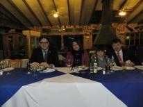 Gonzalo Fontanes, Irma Vidal, Diego Godoy y Alejandro Godoy