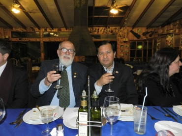 Noel Fontanes y Edison Pérez