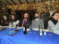 Lissette Moraga, Elizabeth Gallardo, Giorgio Interdonato, Emilio Becker y Ximena Brtio