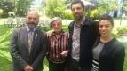 GD Edgar Ibarra, Erika Stuven, Sergio Fontanes & Catalina Alvarez