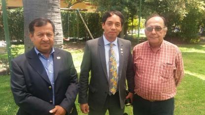 Edison Pérez, Miguel Tapia & Jorge Fontanes
