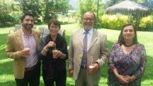 Emilio Becker, Laura Jara, Simón Saavedra & Alejandra Fontanes