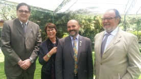 Gonzalo Fontanes, Laura Jara, GD Edgar Ibarra & Simón Saavedra