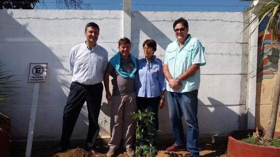 Rodrigo Jarufe, Alejandro Godoy, Laura Jara y Gonzalo Fontanes