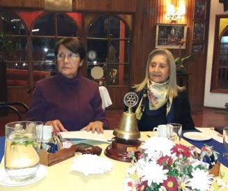 Presidenta RCO Laura Jara Madariaga y GD Luz Beatriz Bernal González.