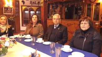 GD Luz Beatriz Bernal González, Alejandra Fontanés Zahr, Luis Rioseco Morales y Beatriz Zahr Tajmuch.