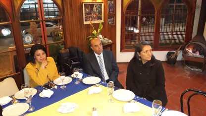 Pamela Díaz, Rodrigo Díaz y Ximena Brito,