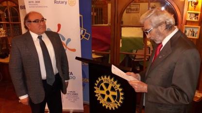 Juramento Rotario Omar Soto Salles
