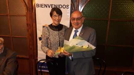 Laura Jara y Santiago Amador