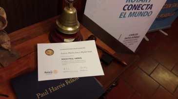 Diploma Socio Paul Harris