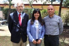 Ivan Dragicevic Trewhela, Elizabeth Gallardo Díaz y Jorge Jil Herrera