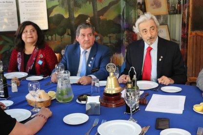 Lilian Correa Fuentealba, Carlos Tapia Gomez y Ivan Dragicevic Trewhela
