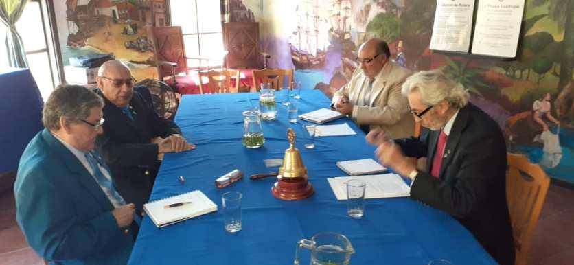 Reunión GD con presidente y secretario