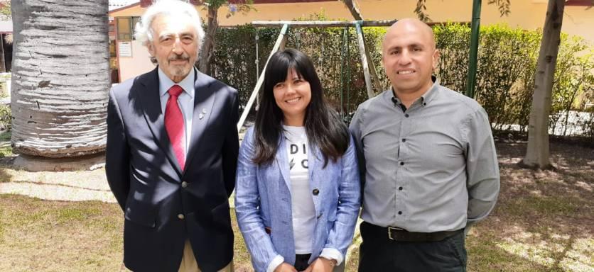 Ivan Dragicevic Trewhela, Elizabeth Gallardo Díaz yJorge Jil Herrera