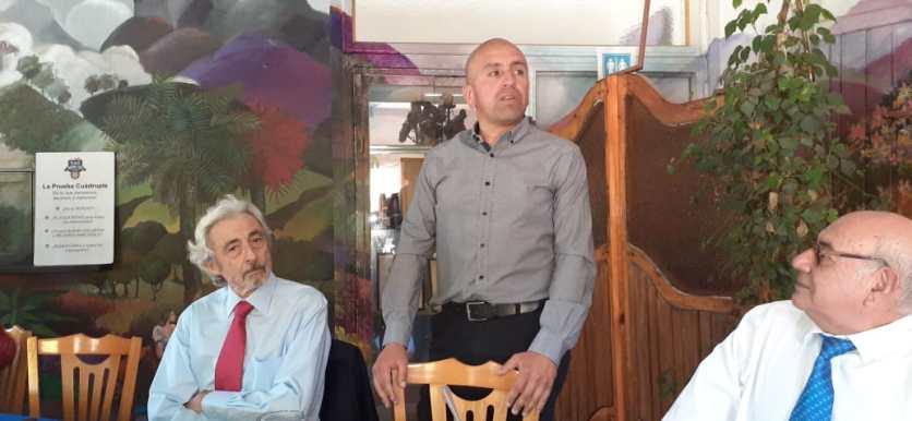 Ivan Dragicevic Trewhela, Jorge Jil Herrera y Santiago Amador Amador