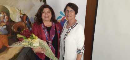 Lilian Correa Fuentealba y Laura Jara Madariaga